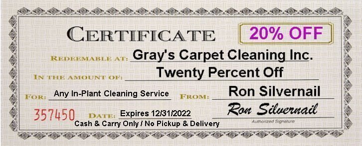 Gray S Carpet Cleaning Inc 251 Sanford St Rochester